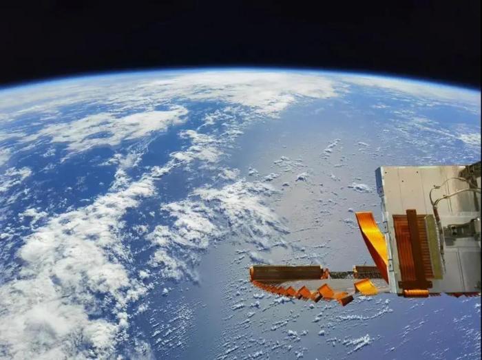 航天员在轨拍摄的高清大图。航天员汤洪波 摄 图片来源:载人航天办