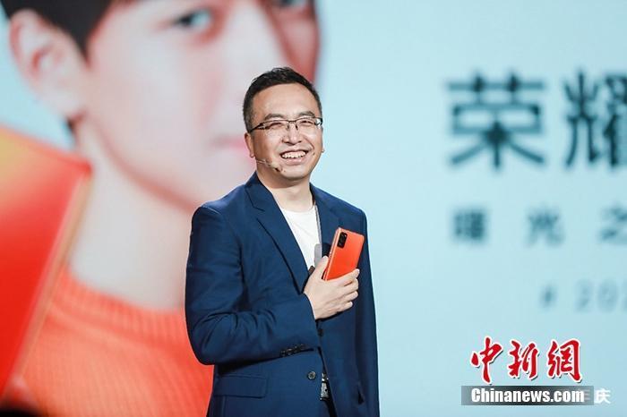 资料图:荣耀CEO赵明