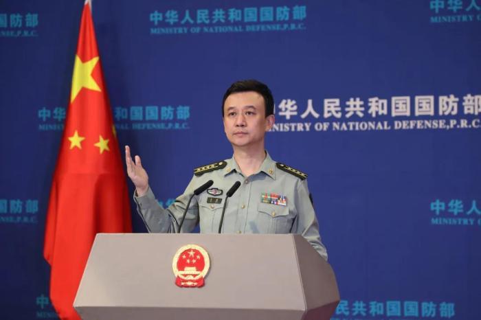 国防部:台湾的事,是中国的事,不关日本什么事