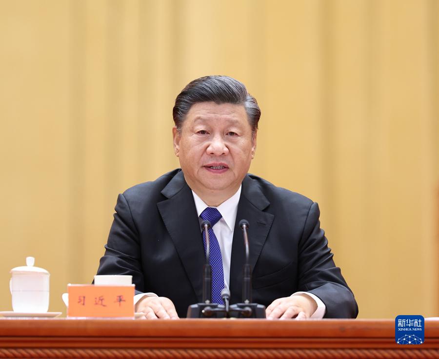 10月9日,纪念辛亥革命110周年大会在北京人民大会堂隆重举行。中共中央总书记、国家主席、中央军委主席习近平在大会上发表重要讲话。新华社记者 庞兴雷 摄