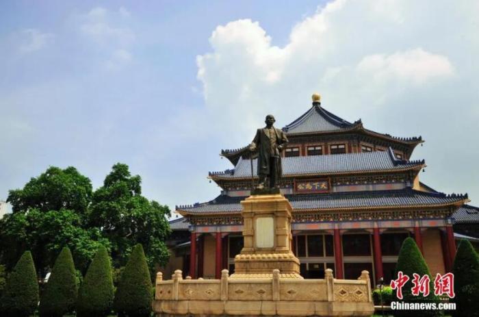 资料图:孙中山像。陈一年 摄 图片来源:CTPphoto