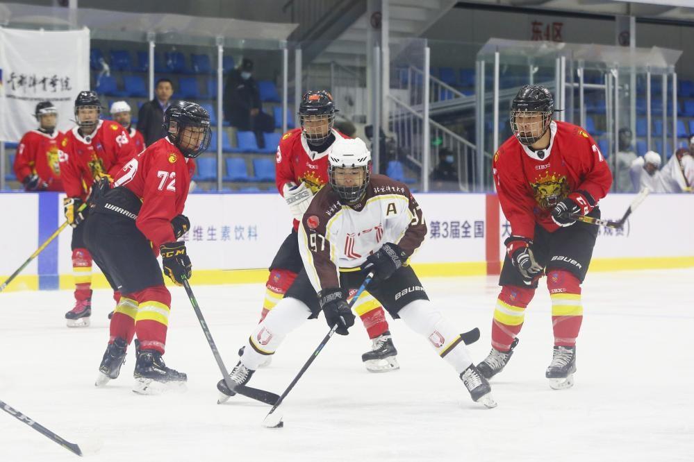 第三届全国大学生冰球联赛常规赛落幕 9队晋级总决赛