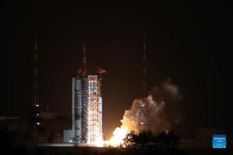 China launches its first solar observation satellite