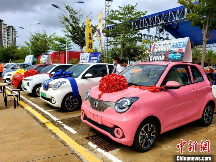 三亞新能源汽車保有量超過2萬占汽車保有總量9%