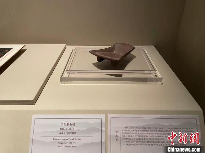 """""""高山景行——上海博物馆受赠文物展""""。 康玉湛 摄"""