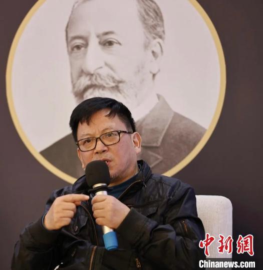 作曲家郭文景 北京国际音乐节供图