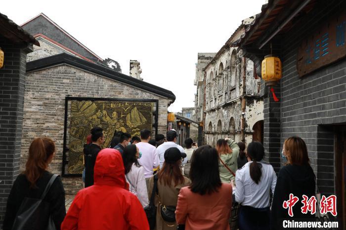 广西北海高德古镇旧貌换新颜 古港变身城市旅游打卡地
